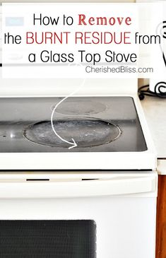 15 Handy Kitchen Cleaning Tips You Need To Know! Lots of tips to help you clean even the most difficult areas of your kitchen! How to clean your glass top stove Deep Cleaning, Spring Cleaning, Cleaning Hacks, Cleaning Supplies, Kitchen Cleaning, Glass Stove Top Cleaning, Cleaning Flat Top Stove, Clean Stove Top, Cleaning Recipes