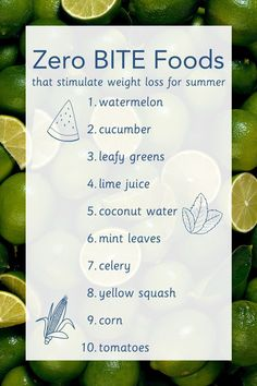 Click to see our top ten lowest calorie foods that stimulate weight loss, hydration, and add some summer flair to your kitchen! Healthy Foods, Healthy Recipes, Low Calorie Recipes, Lime Juice, Coconut Water, Top Ten, Watermelon, Mint, Weight Loss
