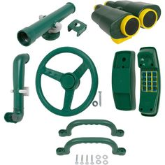 Deluxe Accessories Kit (Green) With SSS logo Sticker Swing Set Stuff Inc. http://www.amazon.com/dp/B00BK82BM6/ref=cm_sw_r_pi_dp_BxEmub1T7J294