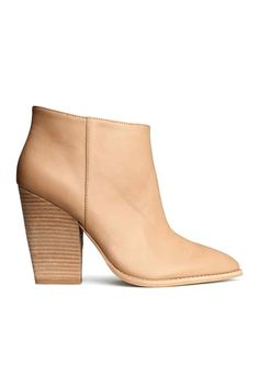 Best Ankle Boots - Booties for Women - Redbook Nude Ankle Boots, Best Ankle Boots, Ankle Booties, Cheap Boots, Cool Boots, Boots 2014, Zara, Fall Booties, Shoes