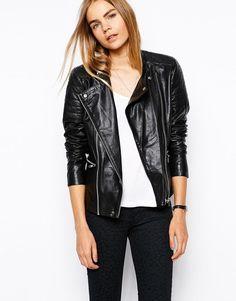 New Women's Leather Motorcycle Biker Jacket 100% Genuine Soft Lambskin #N29 #NationalLeather #MotorcycleBomber