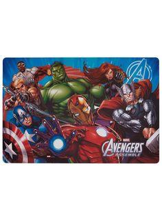 Ce set de table sera parfait pour prendre vos repas et goûters en compagnie de super héros !