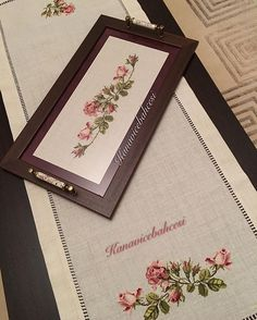 33 Best Wooden Home Accessories Unique - Room Dekor 2021 Cross Stitch Art, Cross Stitch Borders, Cross Stitch Flowers, Cross Stitching, Cross Stitch Patterns, Jacobean Embroidery, Hand Embroidery, Picture Frame Tray, White Wooden Bed