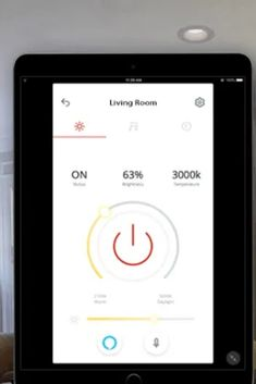 With smart lighting, homeowners can program their lighting to wake them, set the mood, dim the lights, or tune the lighting color temperature from warm to cool. Play music from the downlight speaker with a simple voice command. Control privacy by muting or just turn it off completely with the flick of a switch. Smart Home Automation, Color Temperature, Downlights, New Technology, Mobile App, Mood, Warm, Play, Lighting