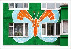 Colorful Apartment Buildings | Golberz.Com