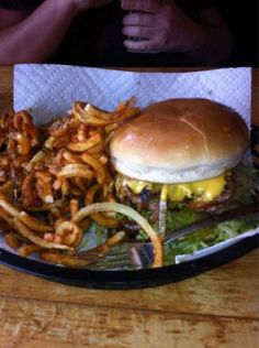 Nic's Grill in Oklahoma City is an iconic eatery with mouthwatering fare. Their hamburger was named one of the top ten burgers in the US by TripAdvisor.