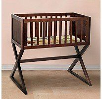 Gift - Babymod Convertible Bassinet - Espresso