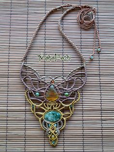 In Lak'ech 'I am another You' necklace with por MahakashiCreations