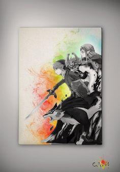 Watercolor Legend of Zelda Twilight Princess Midna Wolf Link Print Archival Print Art Wall Decor Art Anime Print Cartoon Multi Size n626 on Etsy, 31,25 zł