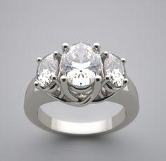 Three Stone Ring Settings