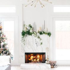 227 best Mantel Decorating Ideas images on Pinterest in 2018 | Fire ...