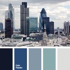 Color Palette Cold Gamma /Bloglovin'