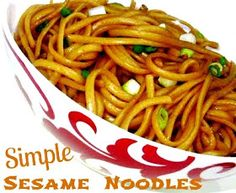 Cooking with K | Southern Kitchen Happenings: PW Simple Sesame Noodles