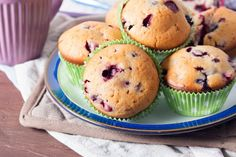 Go - muffins Food Network Recipes, Health Tips, Muffins, Deserts, Baking, Breakfast, Cupcake, Morning Coffee, Muffin
