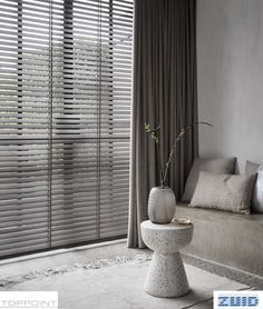 Blinds Inspiration, Room Inspiration, Blinds For Windows, Curtains With Blinds, Modern Window Coverings, Wood Blinds, Curtain Designs, Window Design, Home Decor Styles
