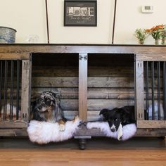 Double Doggie Den® | Doggies, Indoor and Dog
