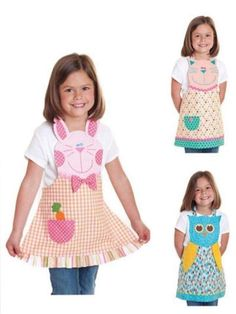Trendy sewing patterns for kids apron Sewing Patterns For Kids, Sewing For Kids, Baby Sewing, Sewing Ideas, Sewing Tutorials, Sewing Crafts, Sewing Projects, Diy Crafts, Child Apron Pattern