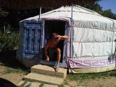 Toscana, settembre 2013,  yurta mongola