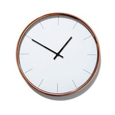 Copper Coloured Clock from Kmart - $15.00
