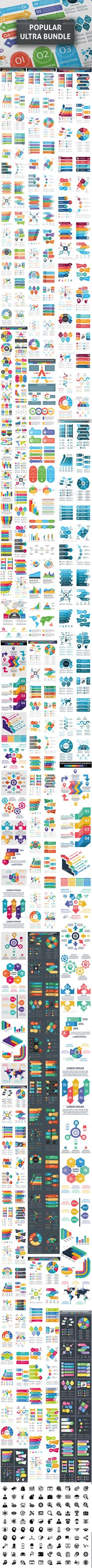 Infographic templates bundle | Pinterest | Powerpoint free, Free ...
