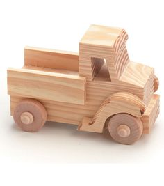 TRUCK  -WOOD TOY KIT Possible Party favors