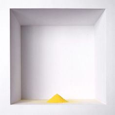 Wolfgang Laib // Untitled, 1998 // pollen from hazelnut // height: 2 inches 7 cm I saw this at the Hirshhorn museum of modern art Op Art, Wolfgang Laib, Yellow Artwork, Colour Board, Action Painting, Installation Art, Art Installations, Contemporary Artists, Modern Art