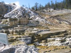 Mammoth Hot Springs - Yellowstone National Park Photo (32580490 ...
