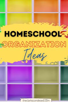 Daily routines are an important part of homeschooling and being able to find all your supplies is so important. Check out my best homeschool organization tips and tricks. Best homeschool organization ideas for small spaces, homework stations and homeschooling rooms. Get your storage organized with a cart, Dollar Tree office supplies and this amazing free printable homeschool planner! #freepritnablehomeschoolplanner #organizinghomeschoolroom #homeschoolorganization