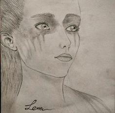 #Drawing Lexa  #The 100