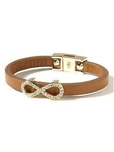 Leather Skinny Bracelet | Banana Republic