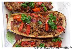 Aubergines farcies à la turque | Marmotte cuisine !