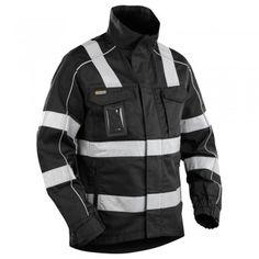"""Bundjacke """"4051"""" SERVICE mit Reflex - BLAKLÄDER® #Blåkläder #warnschutzjacke #arbeitsjacke #arbeitskleidung #reflexstreifen"""