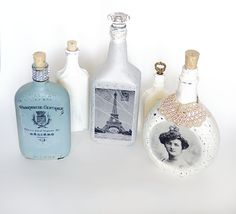 http://savedbylovecreations.com/2014/07/diy-image-transfer-recycled-glass-bottles.html