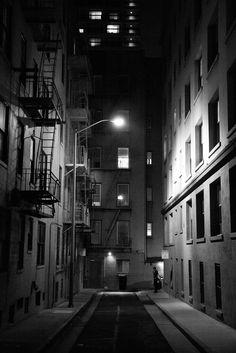 - I got to wander the dark streets of San Francisco...