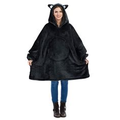 Cat Oversized Hoodie Blanket Sweatshirt,Super Soft Warm Comfortable Sherpa Giant Pullover with Large Front Pocket,for Adults Men Women Teenagers Kids Hoodie Sweatshirts, Hoodies, Teenagers, Gadget Shop, Warm, Pullover, Pocket, Blanket, Kids