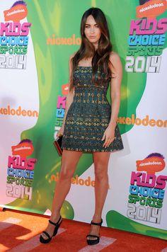 Megan Fox – 2014 Nickelodeon Kids' Choice Sports Awards in LA