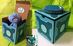 How to make a Mr. Meeseeks box from Rick and Morty - Imgur