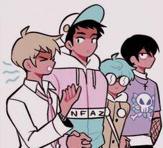 Trans Art, Feeling Empty, Lgbt Love, Kawaii Art, Boyfriend Girlfriend, A Comics, Handsome Boys, Webtoon, Anime Manga