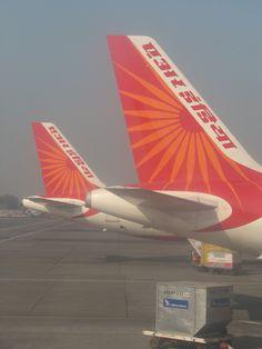 At Bombay Airport