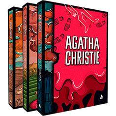 Livro -  Box Coleção Agatha Christie: Os Elefantes não Esquecem, A Mansão Hollow, Morte na Mesopotâmia