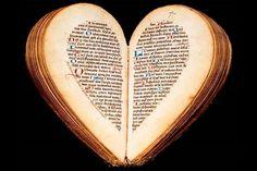 Heart shaped book -- Cute!