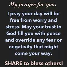 Have faith in Him