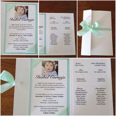 custom quince  invitations