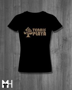Items similar to Ace Tennis Playa Tennis T Shirt tops and tees t-shirts t shirts Tennis Wear, Tennis Gifts, Tennis Uniforms, Tennis Quotes, Tennis Fashion, Team Gifts, Lovers, T Shirts For Women, Usa