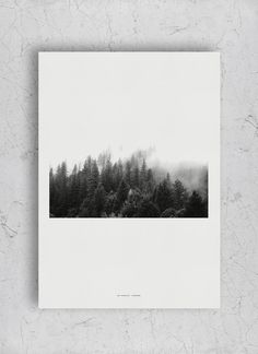 Fog poster  - limited printed edition / numbered serie of 40 – The Wall Shop | www.thewallshop.co