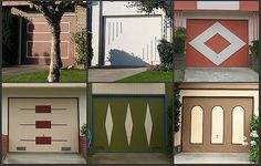 Retro Garage Door Decoration Ideas and Modern Designs for Mid-Century Homes Retro Garage Door Decoration Ideas and Modern Designs for Mid-Century Homes modern design