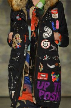 patternprints journal: PRINTS, PATTERNS, TEXTURES AND TEXTILE SURFACES FROM NEW YORK FASHION WEEK (WOMENSWEAR F/W 2015-16) / Libertine