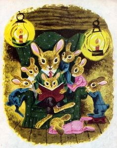 the bunny book richard scarry