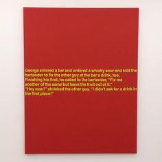 Richard Prince - Joke Paintings at Nahmad Contemporary #nahmadcontemporary…
