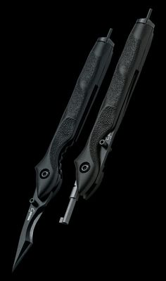 Boker Plus Urban Survival LE EDC Knives with 1 58 in. 440C Stainless Steel Blade in Black with hadcuff key